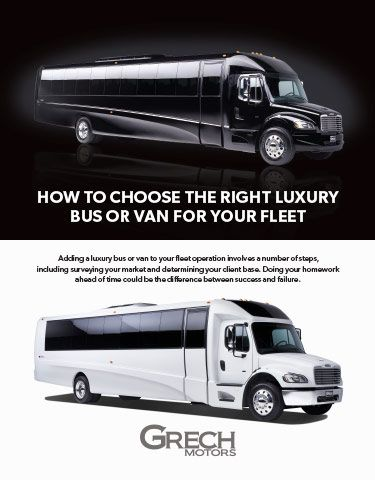How to Choose the Right Luxury Bus or Van for Your Fleet