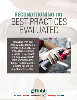 Reconditioning 101: Best Practices Evaluated