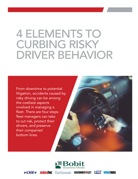 4 Elements to Curbing Risky Driver Behavior