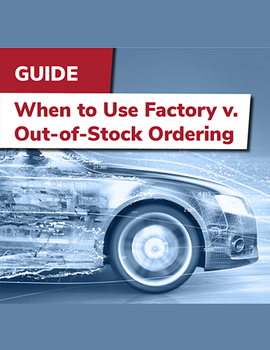 When to Use Factory v. Out-of-Stock Ordering