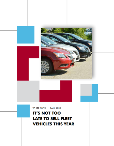 It's Not Too Late to Sell Fleet Vehicles This Year