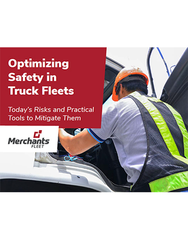 Optimizing Safety in Truck Fleets