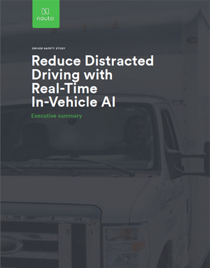 Reduce Distracted Driving with Real-Time In-Vehicle AI