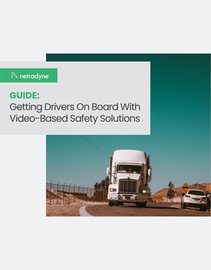 Video Safety Solutions: 13 Tips for Driver Adoption