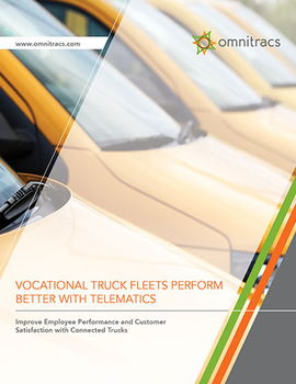 Improve Performance and Customer Service with Connected Trucks