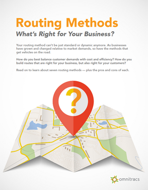Routing Methods Guide
