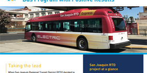 Transit Agency Pioneers Electric Bus Program with Positive Results