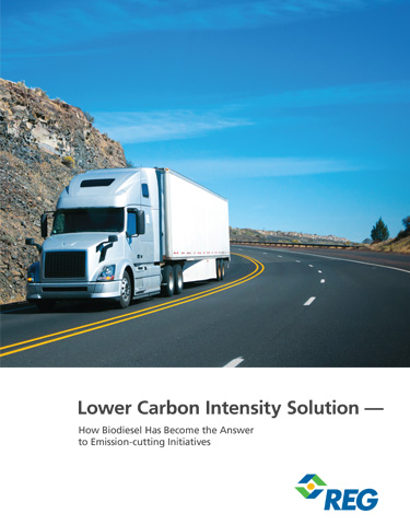 Lower Carbon Intensity Solution