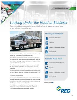 Looking Under the Hood at Biodiesel