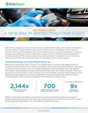 Rethink Clean: A New Era In Protecting Your Fleet