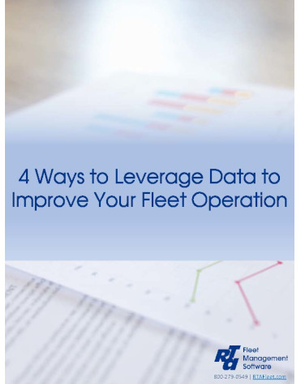 4 Ways to Leverage Data to Improve Your Fleet Operation