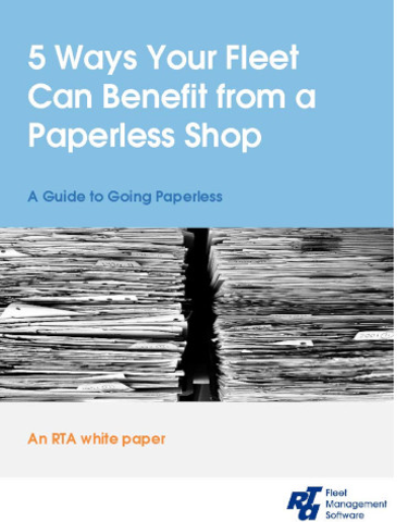 5 Ways Your Fleet Can Benefit from a Paperless Shop
