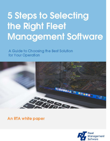 5 Steps to Selecting the Best Fleet Management Software