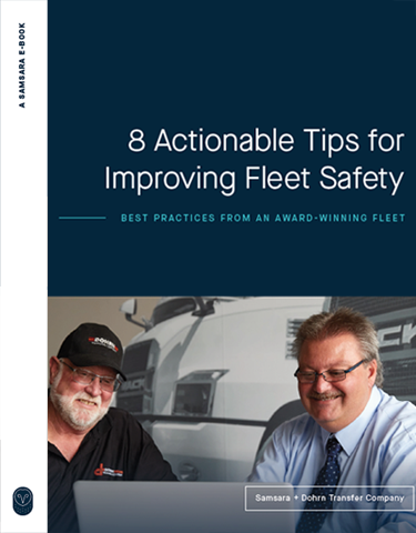 8 Actionable Tips for Improving Fleet Safety