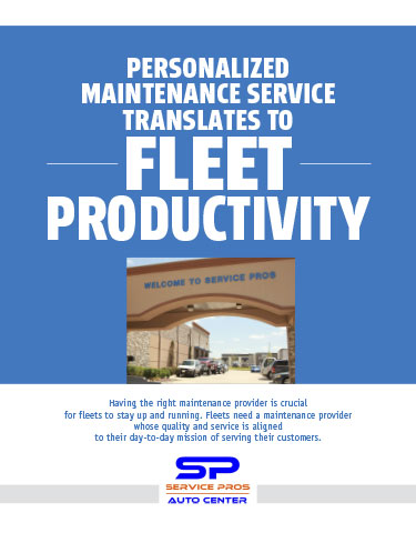 Personalized Maintenance Service Translates to Fleet Productivity