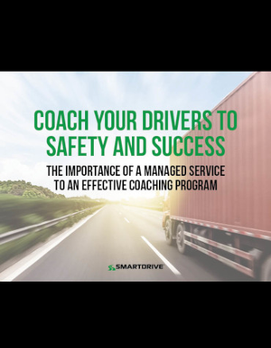 Coach Your Drivers To Safety and Success