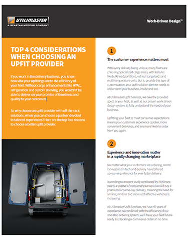 Top 4 Guidelines for Finding Your Upfitter