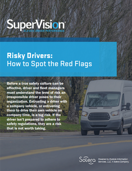 Risky Drivers: How to Spot the Red Flags