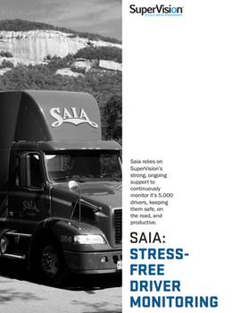 SAIA: Stress-Free Driver Monitoring