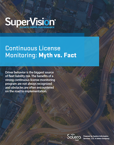 Continuous License Monitoring: Myth vs. Fact