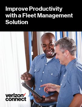 Improve Productivity with a Fleet Management Solution