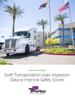 Swift Improves Safety Scores with Inspection Data from PrePass