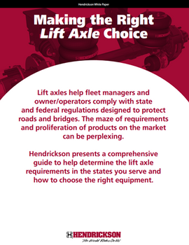 Making the Right Lift Axle Choice