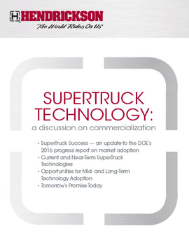 SuperTruck Technology: A Discussion on Commercialization