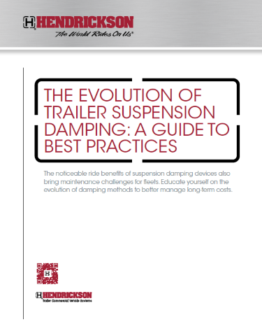 The Evolution of Trailer Suspension Damping: A Guide to Best Practices
