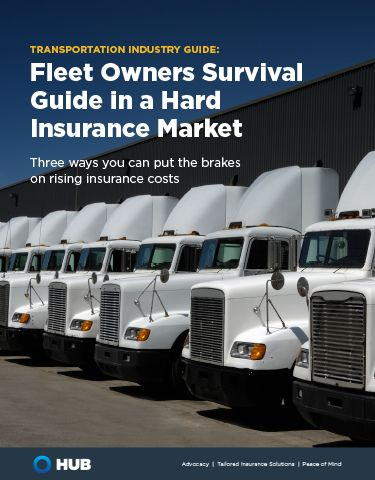 A Fleet Owner's Survival Guide in a Hard Insurance Market