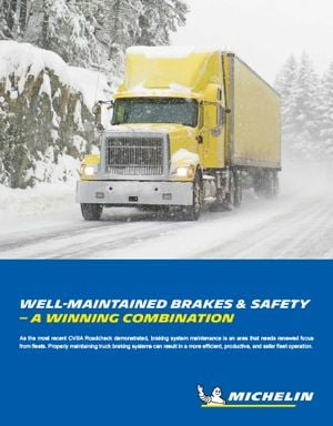 Well-Maintained Brakes & Safety — A Winning Combination