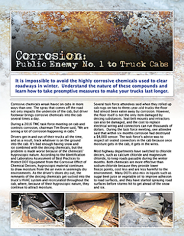 Rust Relief: How to Beat In-Cab Corrosion