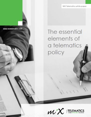 The Essential Elements of a Telematics Policy