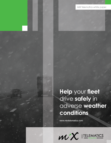 Help Your Fleet Drive Safely in Adverse Weather Conditions