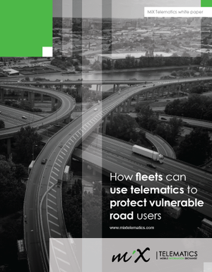 How Fleets Can Use Telematics to Protect Vulnerable Road Users