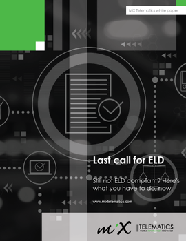 Last Call for ELD