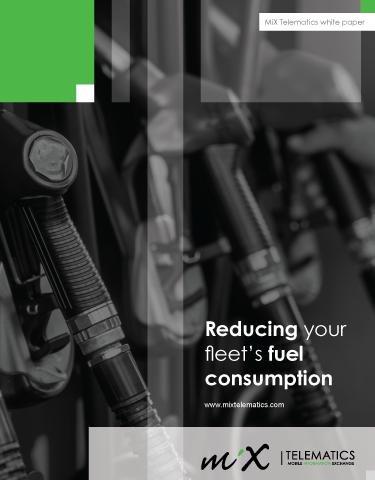 Reduce Your Fleet's Fuel Consumption