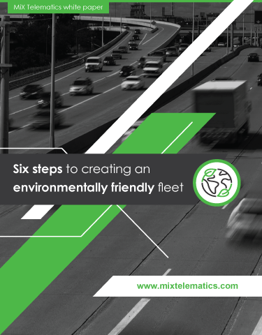Six Steps to Creating an Environmentally Friendly Fleet