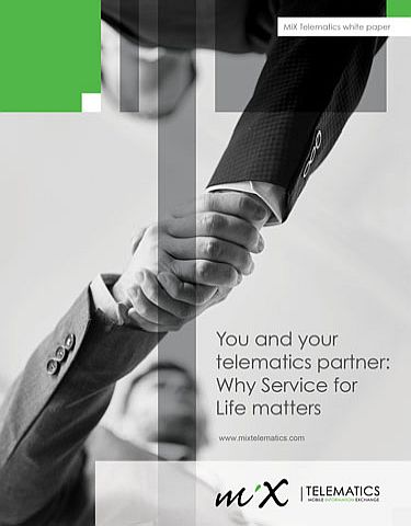 You and Your Telematics Partner: Why Service for Life Matters