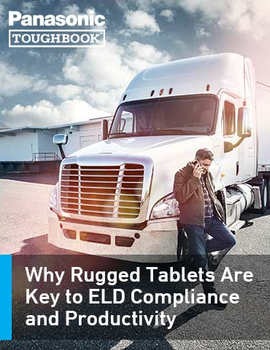 Why Rugged Tablets Are Key to ELD Compliance and Productivity
