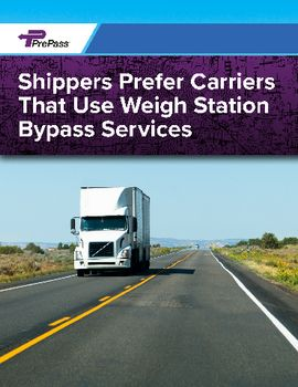 Shippers Prefer Carriers That Use Weigh Station Bypass Services