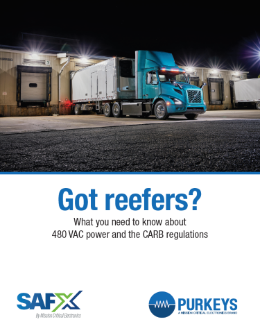 Got reefers? What you need to know about 480 VAC power and the CARB regulations