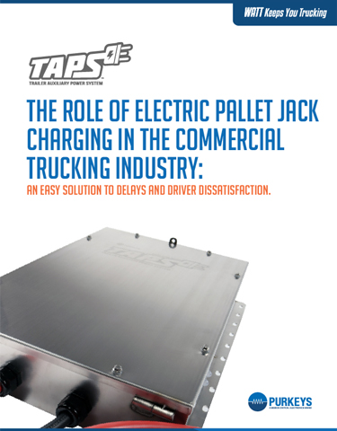 Electric Pallet Jack Charging Leads to More Efficient Operations