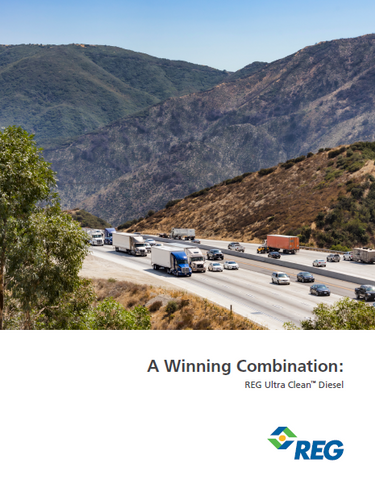 A Winning Combination: REG Ultra Clean™ Diesel