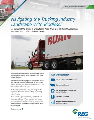 Navigating the Trucking Industry Landscape with Biodiesel