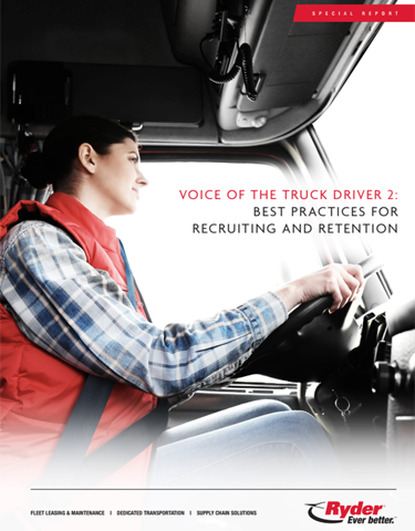 Voice of the Truck Driver 2: Best Practices for Recruiting and Retention