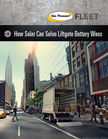 How Solar Can Solve Liftgate Battery Woes
