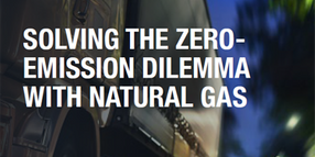 Solving the Zero-Emission Dilemma With Natural Gas