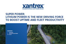 How Lithium Power Boosts Uptime and Fleet Productivity