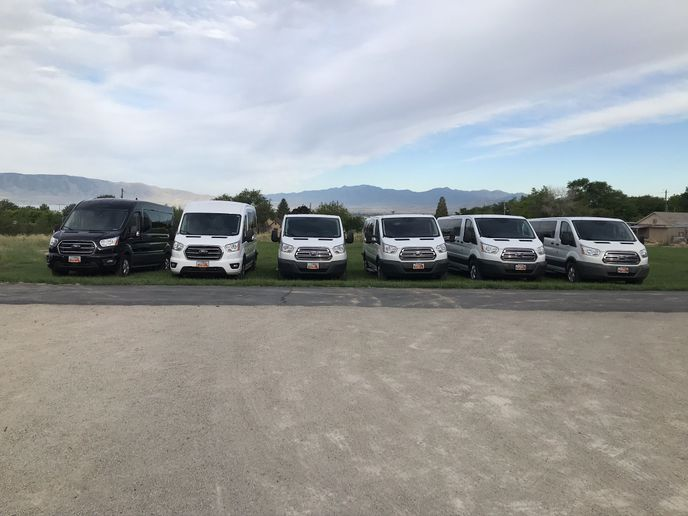 After a dismal Spring, Rabbit Rentals grew from 10 to 13 vans during the summer. Owner Rich Guernsey will de-fleet to seven or eight vans for the winter and built back up to 15 or 20 for Spring 2021. - Photo courtesy of Rabbit Rentals.